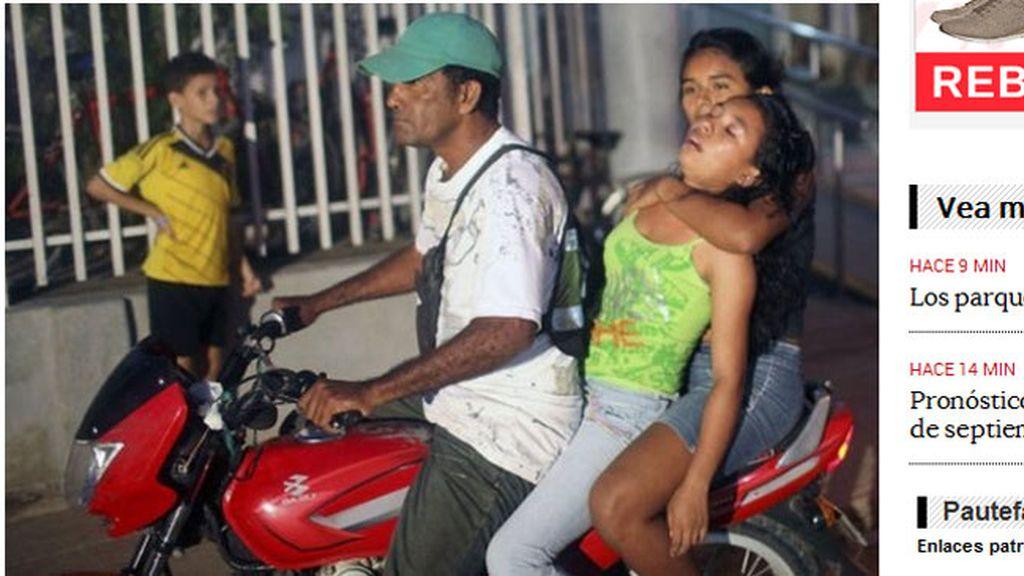 Las niñas de una localidad colombiana sufren una rara enfermedad