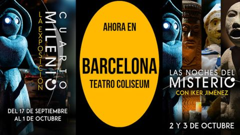 Llegan a Barcelona \'Cuarto Milenio: La Exposición\' y los ...