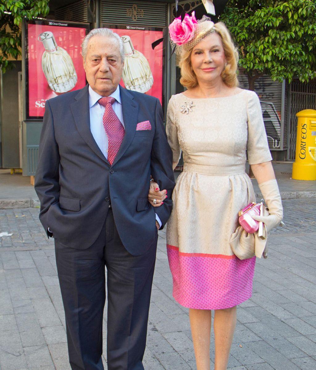 El Litri con su mujer Conchita Spinola