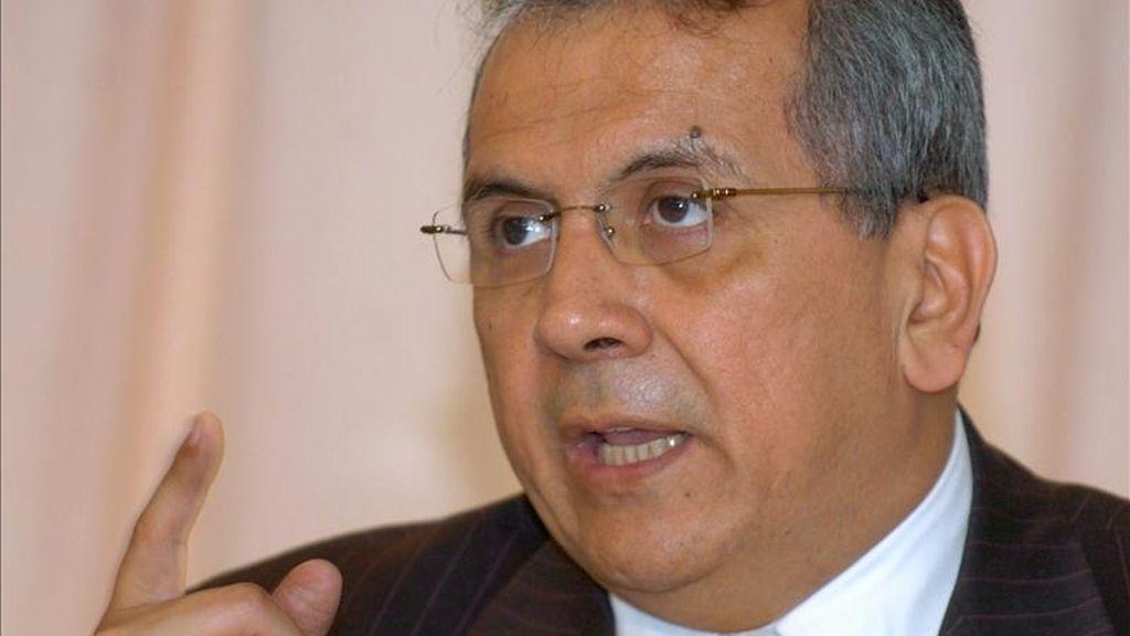 En la imagen, el diputado y ex ministro venezolano de Hacienda Rodrigo Cabezas. EFE/Archivo