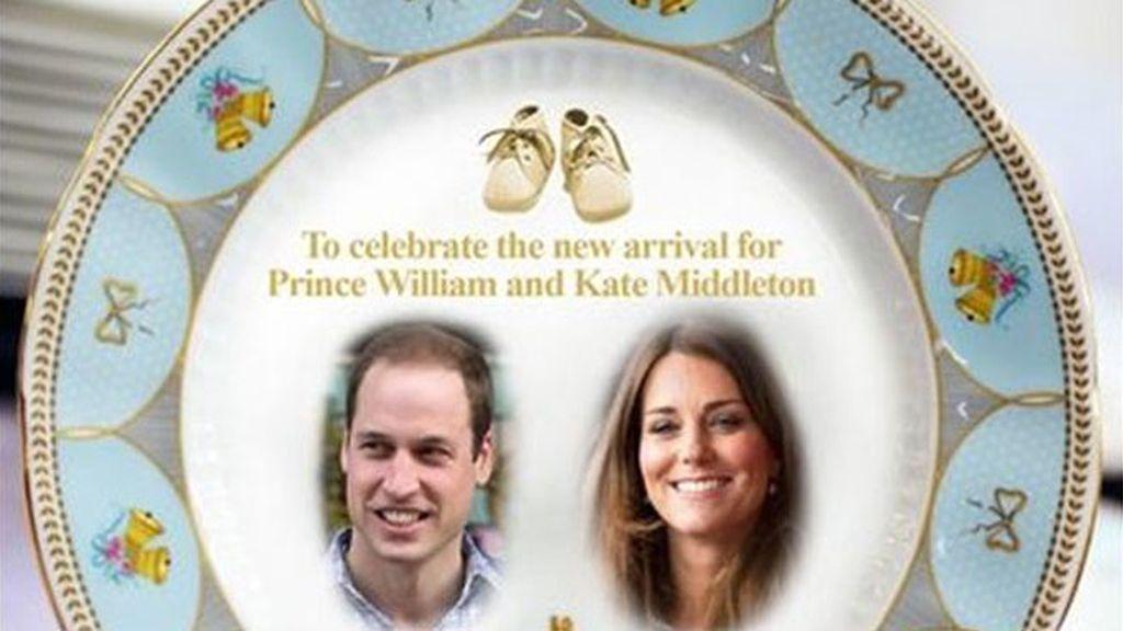 Souvenirs reales para celebrar el nacimiento del hijo de los duques de Cambridge