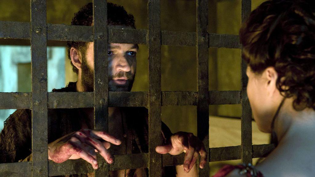 Las fotos de 'El bien común' (T02xC03) y 'Cosas vacías' (T02xC04) de Spartacus