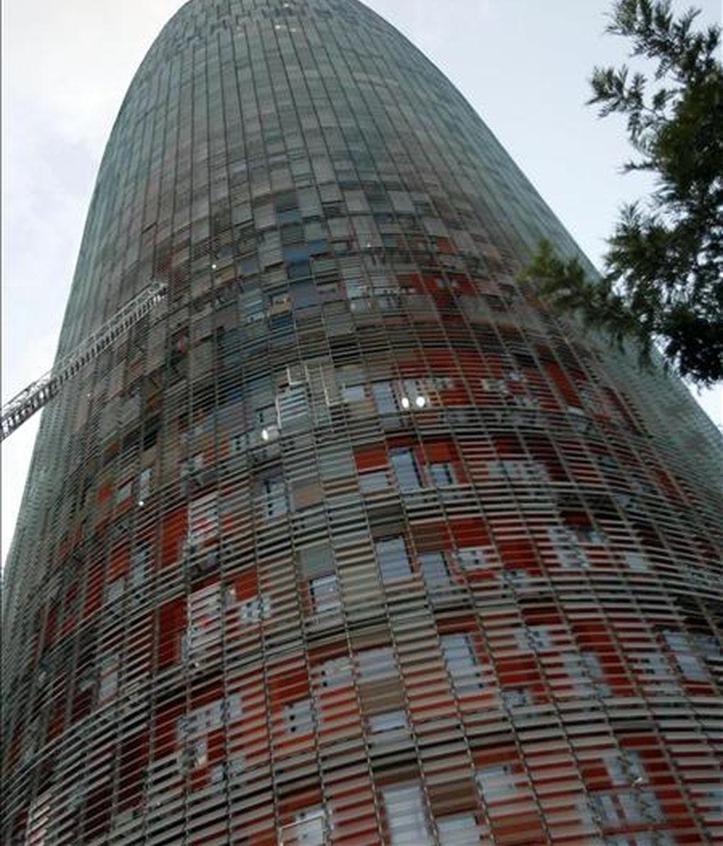 La Torre Agbar de Barcelona, sede corporativa de Aguas de Barcelona. EFE/Archivo