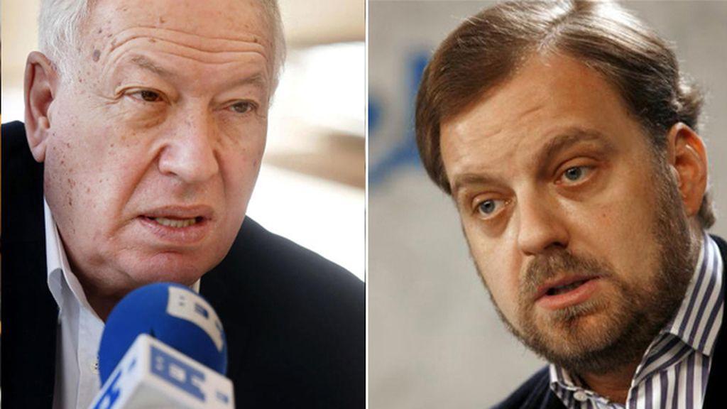 José Manuel García-Margallo y Gustavo Arístegui