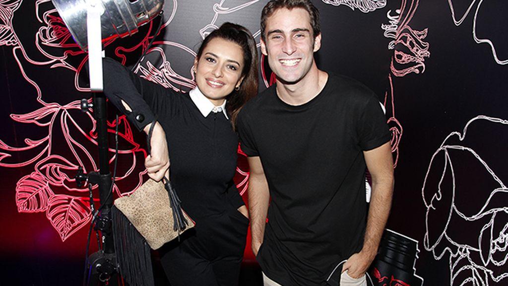 Aurora Carbonell y Fernando Guallar
