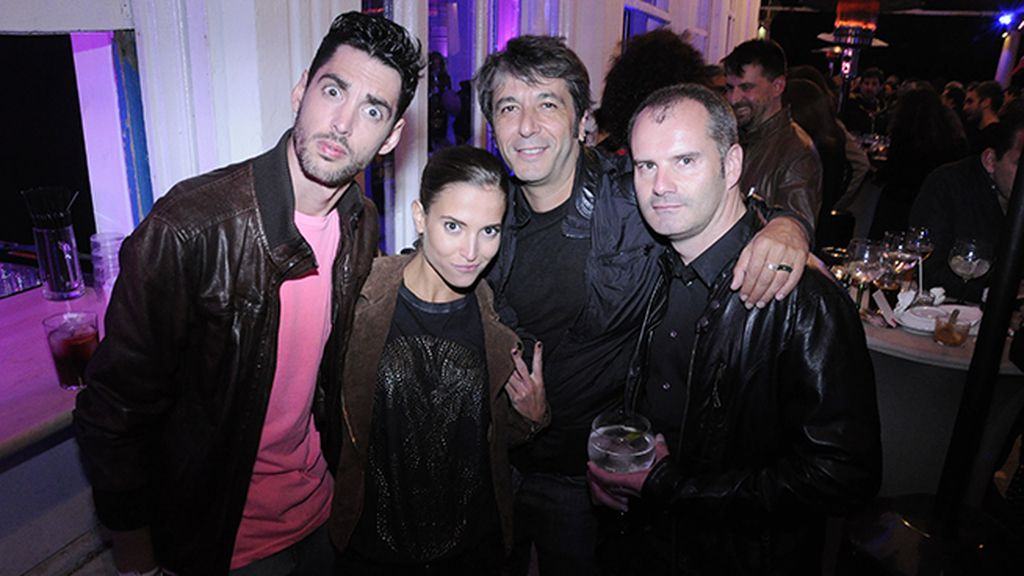 Santi Trancho, Ana Fernández, Pedro Cedeño y Joel Brand