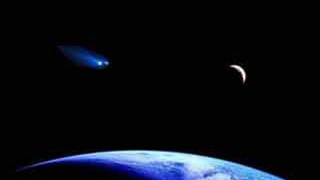 El asteroide 2005 YU55 pasará este martes a una distancia menor que la órbita de la Luna.
