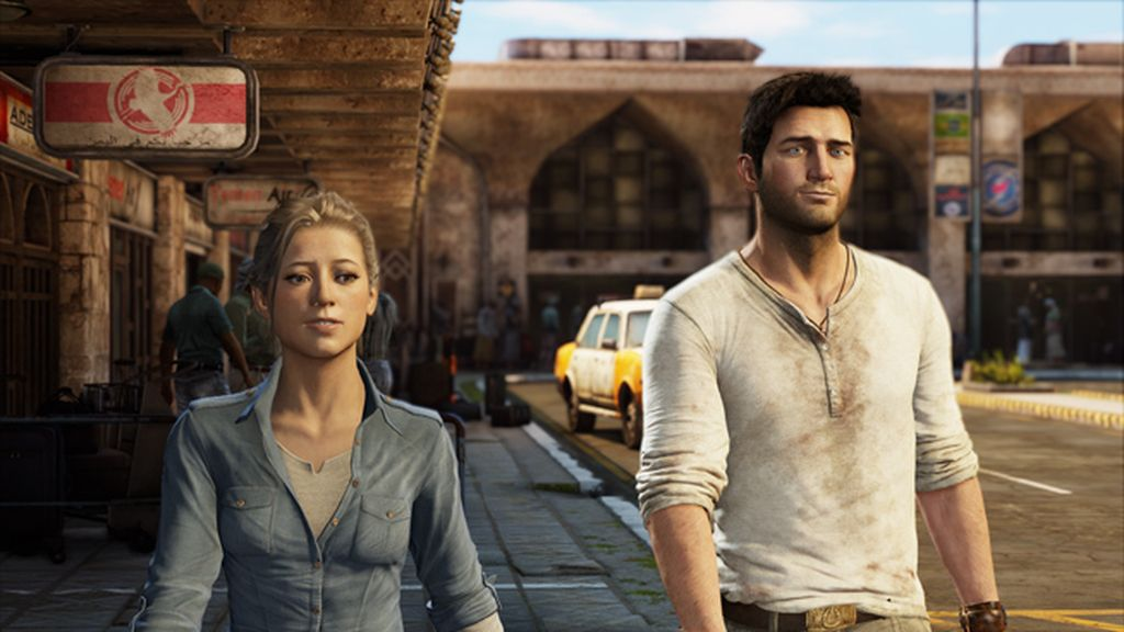 Nathan Drake y Elena Fisher (Uncharted)