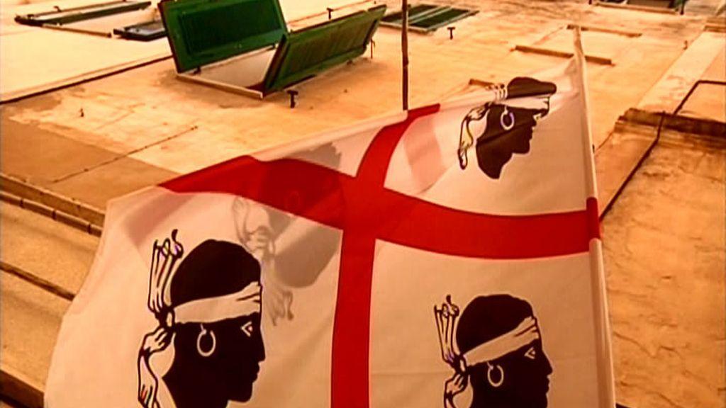 La bandera de Cerdeña