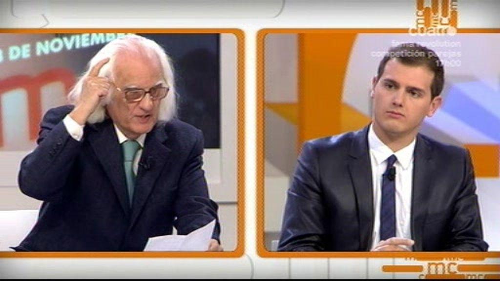 Arturo González y Albert Rivera enfrentados por el tema de la inmigración