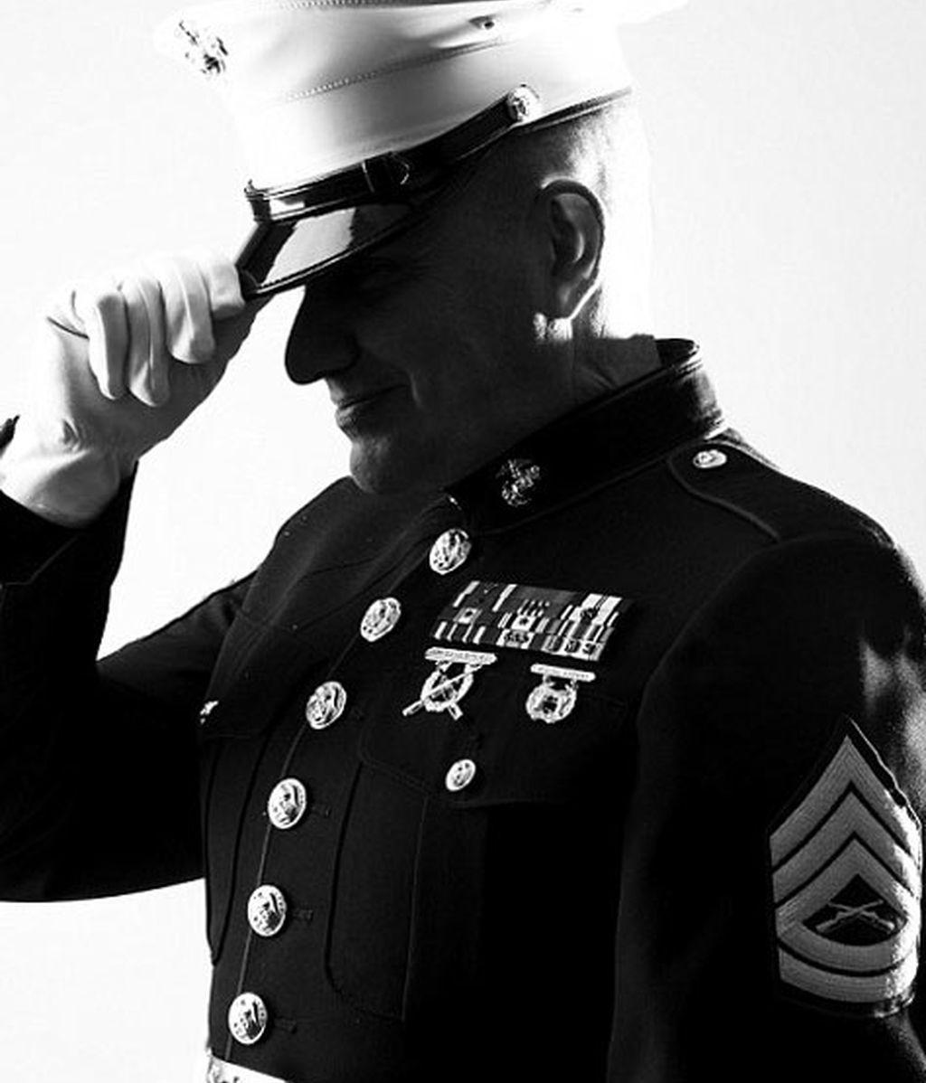 La fotógrafa, una exsargento de la Fuerza aérea de EEUU
