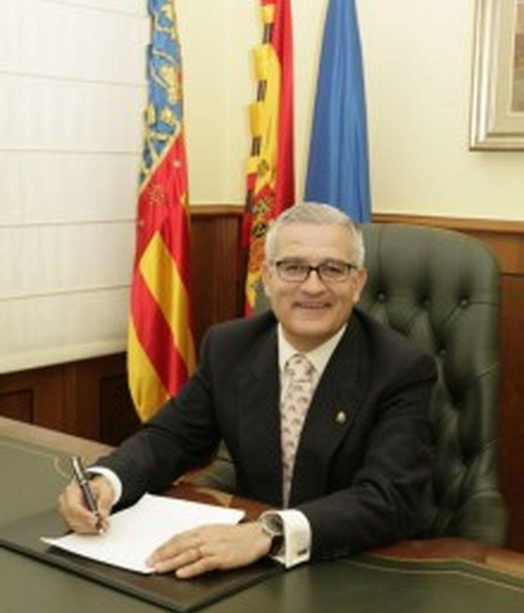 César-Augusto Asencio Adsuar, alcalde de Crevillente