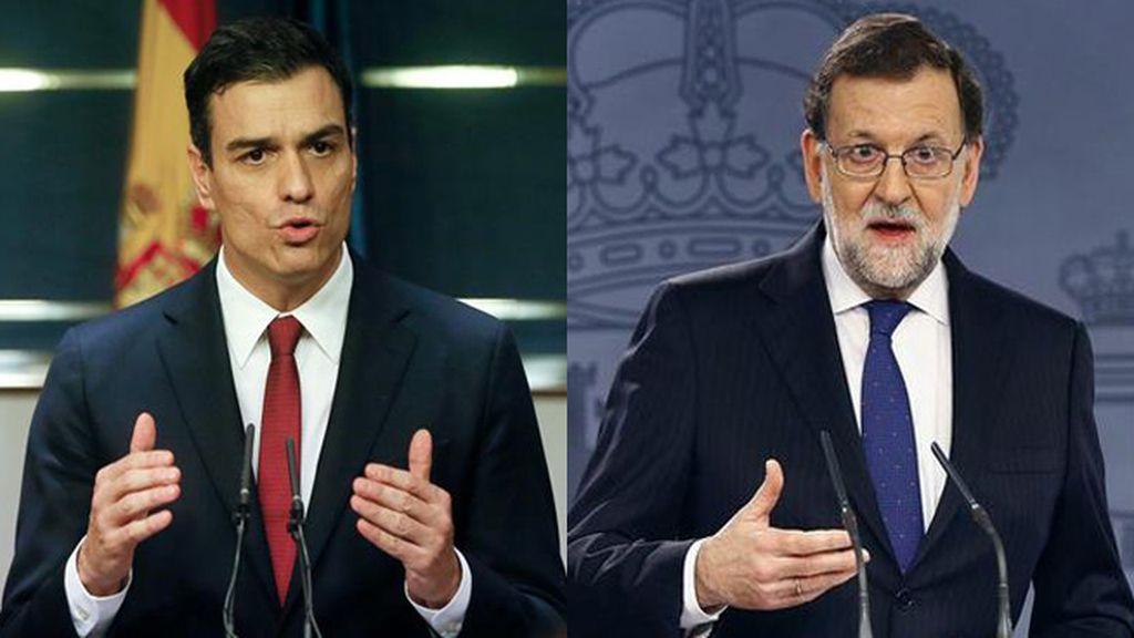 Reunión Rajoy y Sánchez