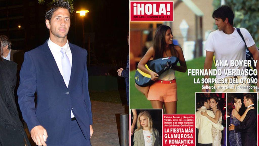 La portada de 'Hola' jugando al tenis