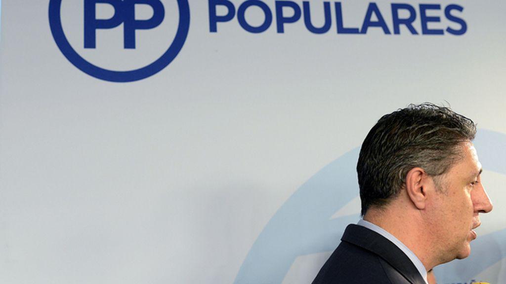 Xavier Garcia Albiol, coordinador general del PPC y presidente del grupo parlamentario
