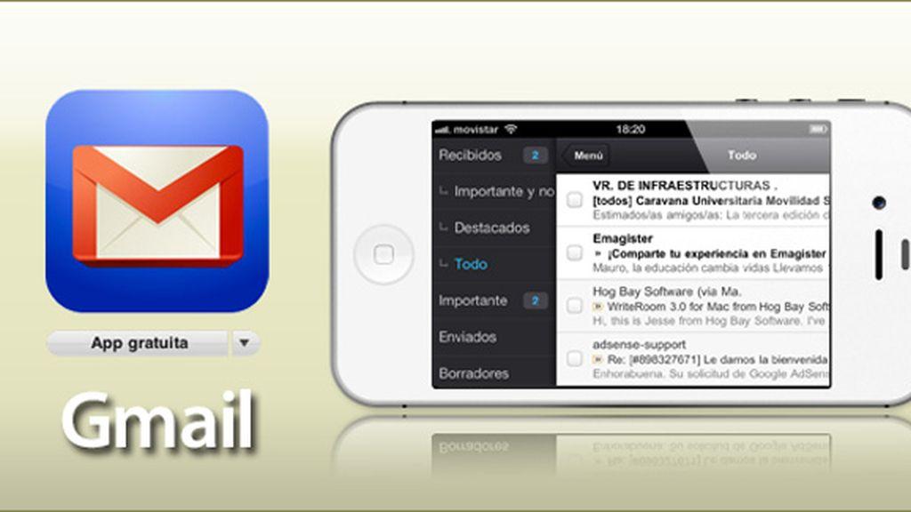 Gmail para iOS vuelve a la App Store con soporte para varias cuentas de correo y la mejora en la gestión de imagen en HTML