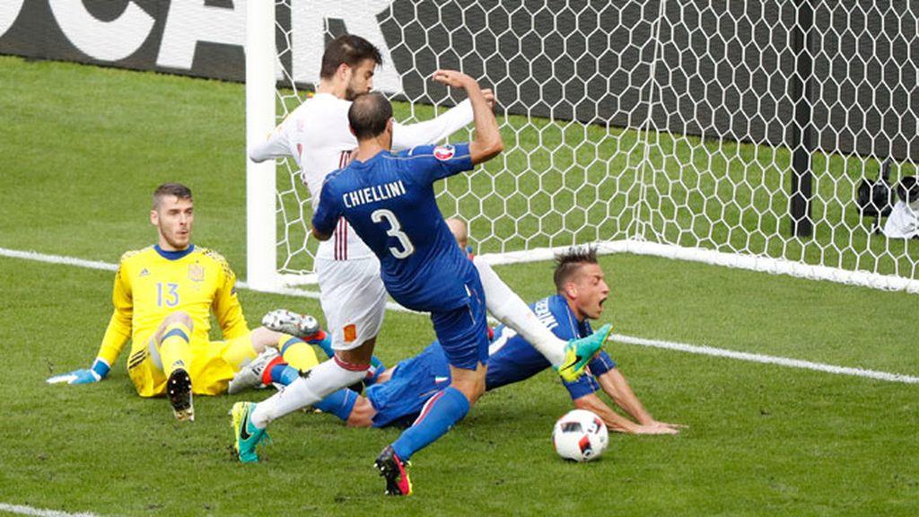 Italia España gol