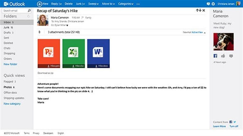 Microsoft reinventa su servicio de correo electrónico con Outlook.com