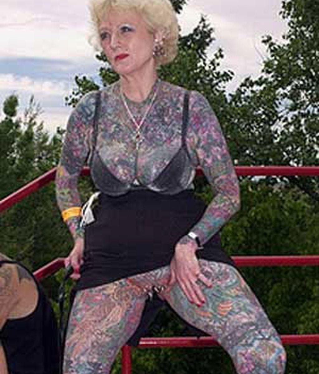 La mujer más tatuada del mundo