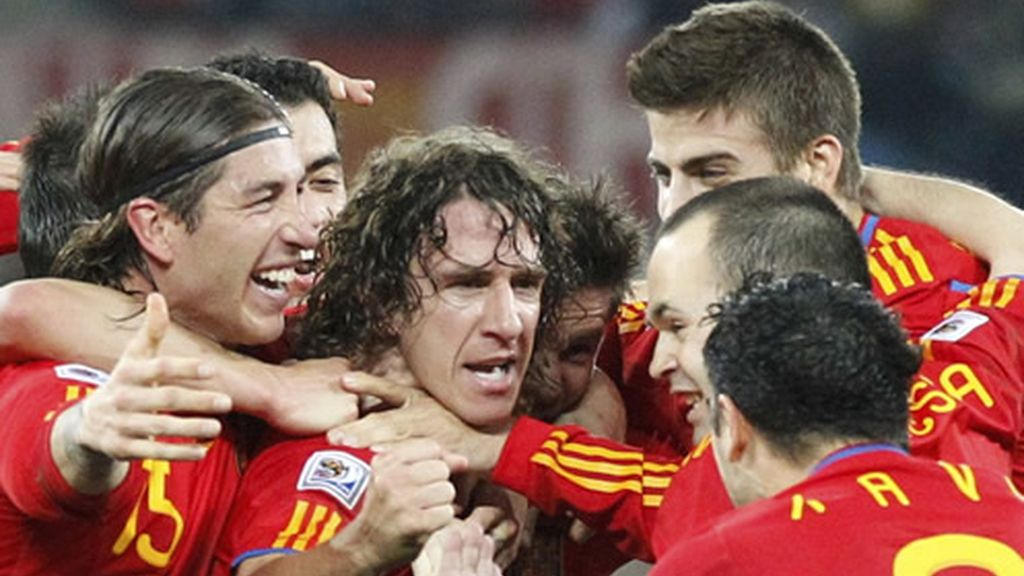 El gol de Puyol desata la euforia