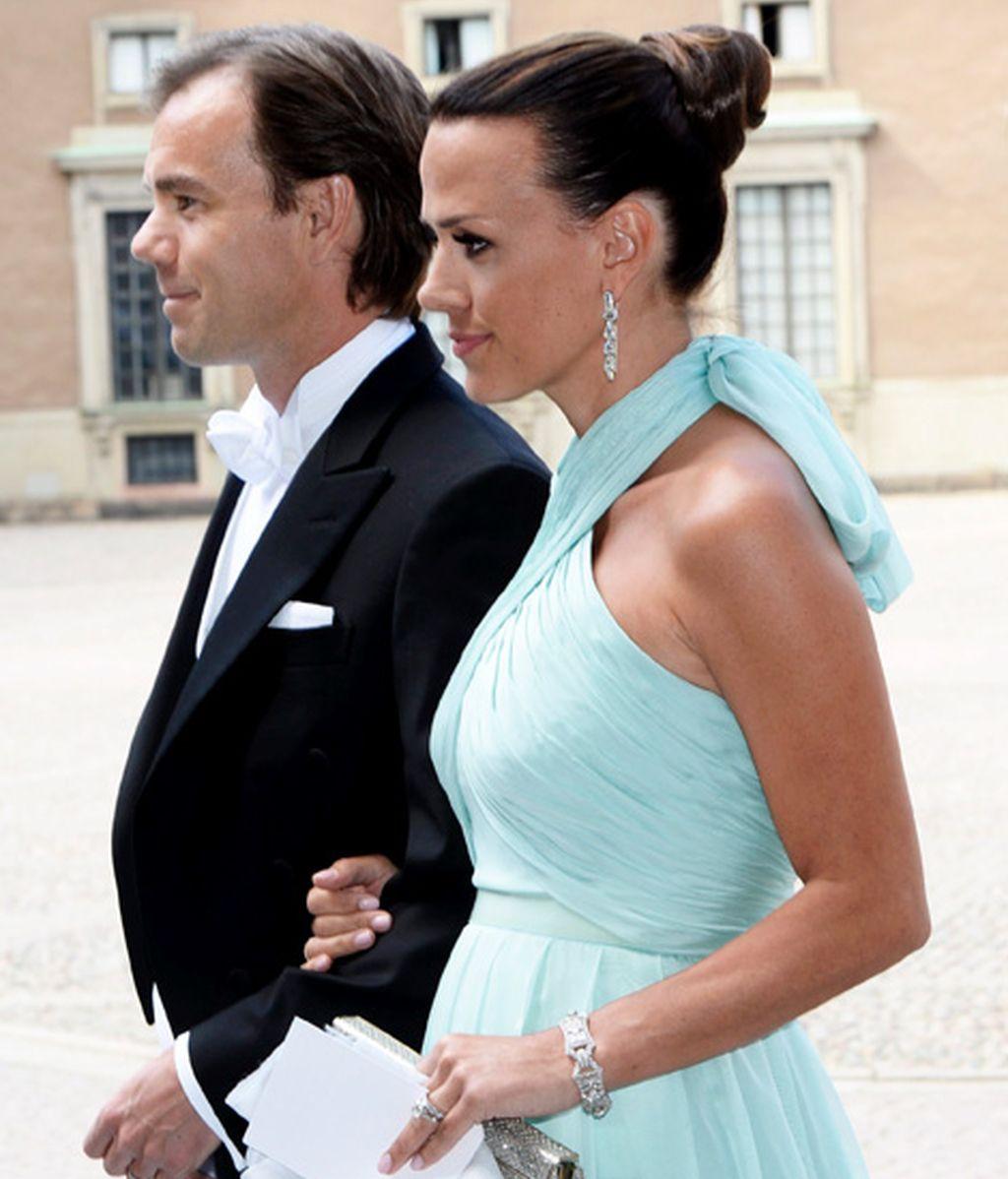 El consejero delegado de HyM y su esposa