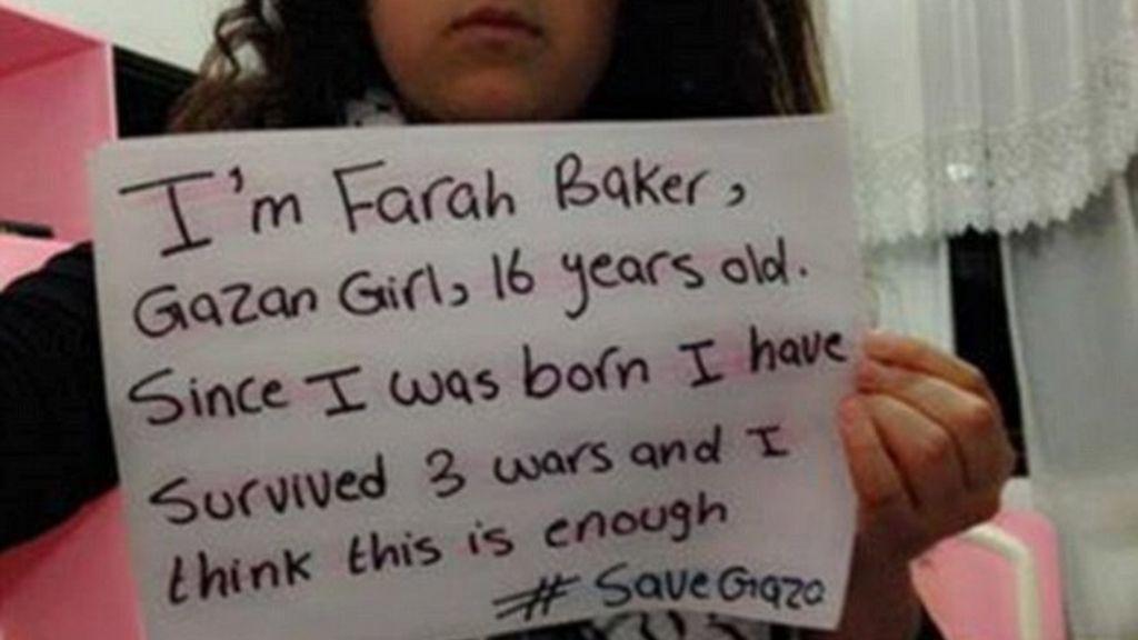 El grito desesperado de una niña en Gaza