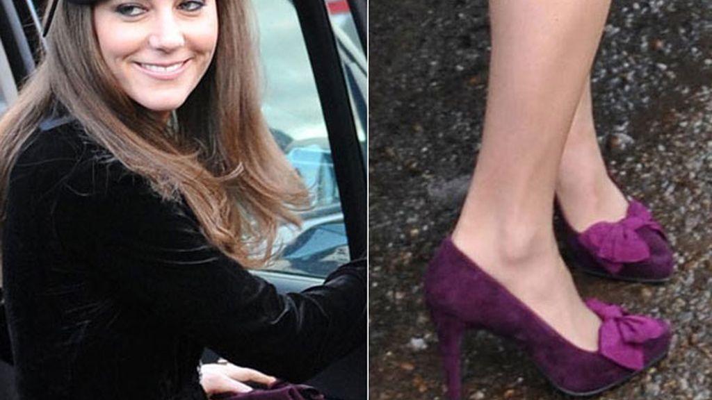 Kate Middelton, lacitos y terciopelo