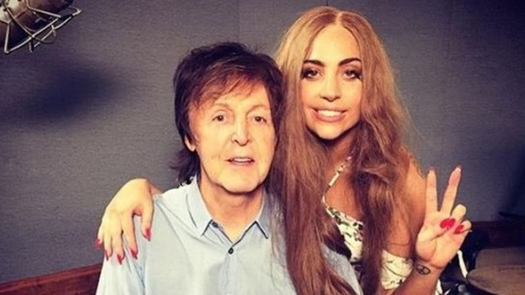 Paul McCartney y Lady Gaga están componiendo juntos