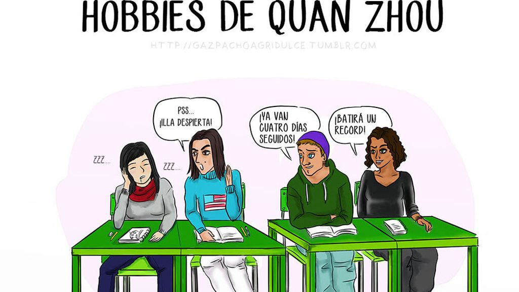 8. Hobbies de Quan Zhou