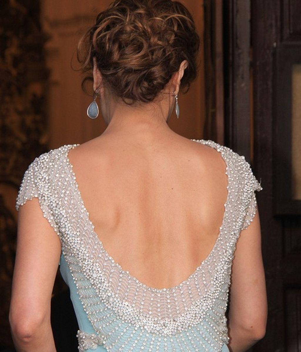 La espectacular espalda de Paloma