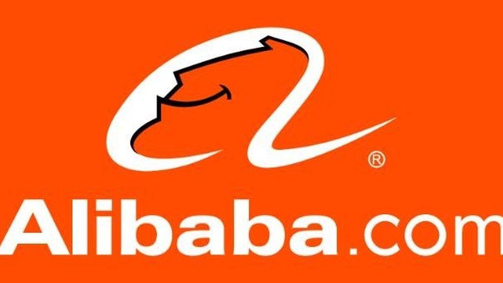 Logo de la compañía alibaba