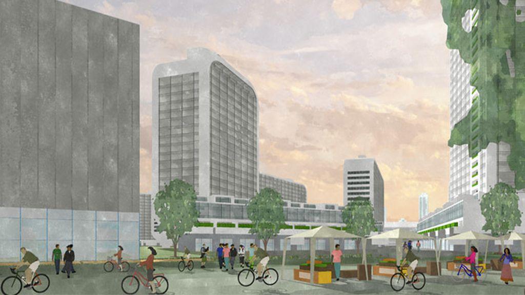 ¿Cómo sería una ciudad diseñada por Google, Facebook y Apple?
