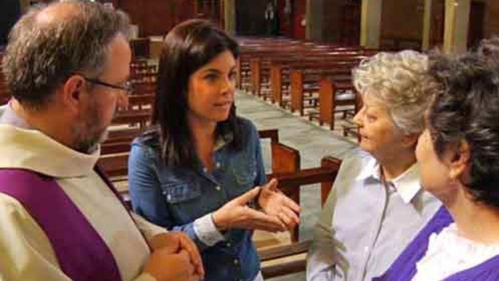 Samanta en una Iglesia