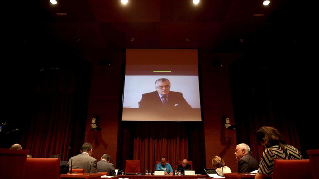 Bárcenas se acoge a su derecho a no declarar ante el Parlamento de Cataluña
