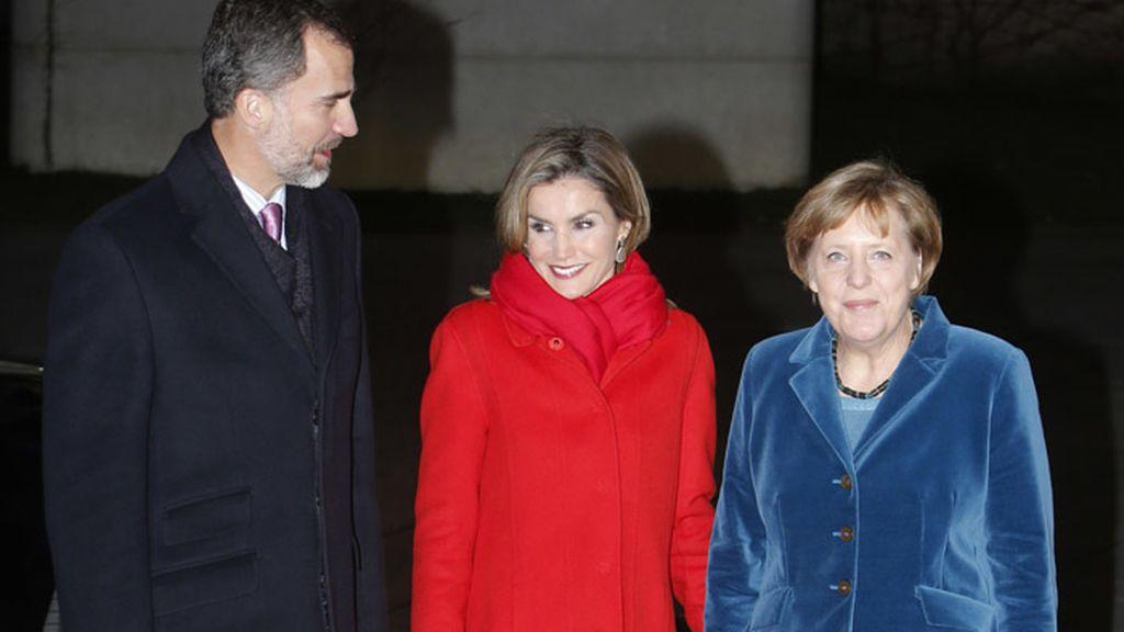 Los reyes visitan Alemania