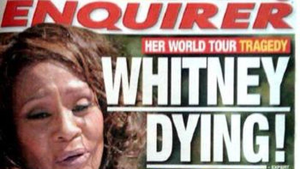 La portada del 'National Enquirer' con el impactante titular.