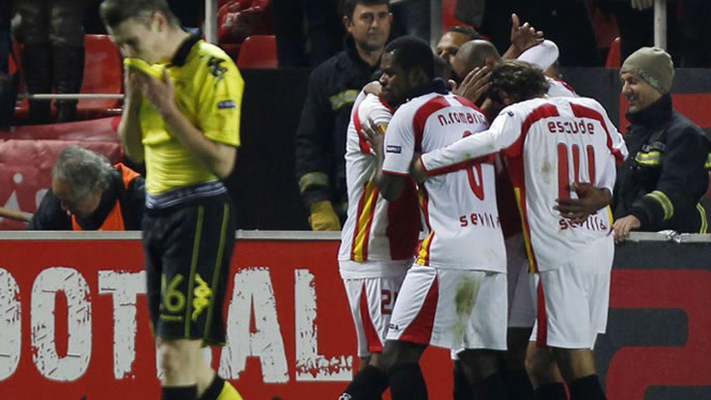 Es Sevilla se clasifica dejando fuera al Borussia Dortmund