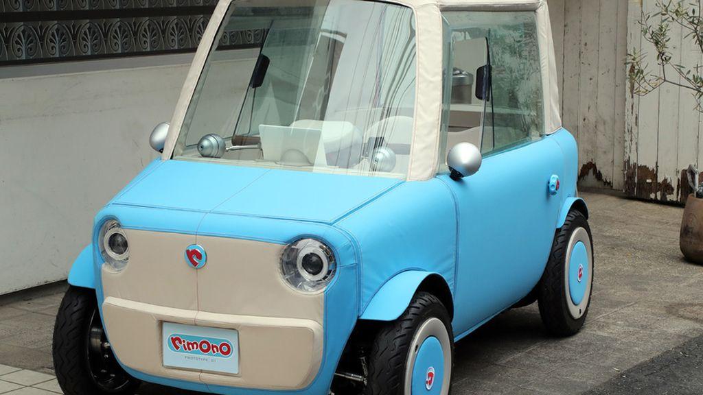 Presentan el primer coche eléctrico hecho de materiales blandos