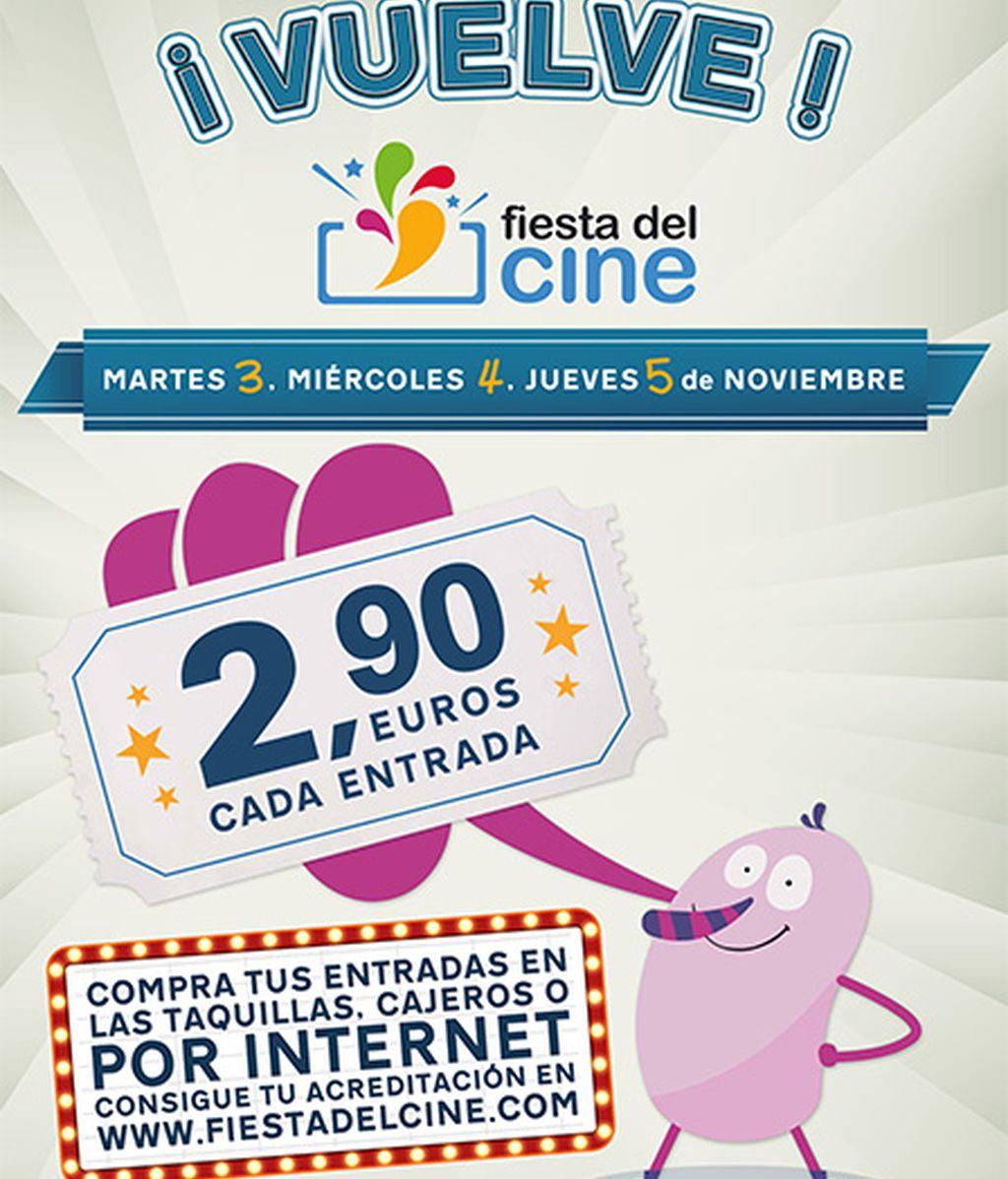 Cartel de la Fiesta del Cine 2015