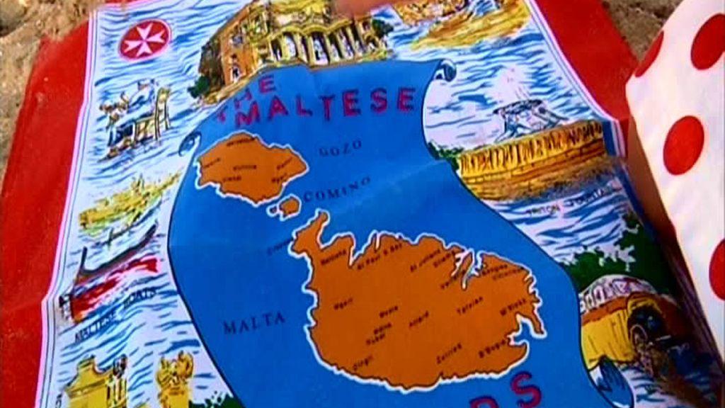 El mapa de Malta