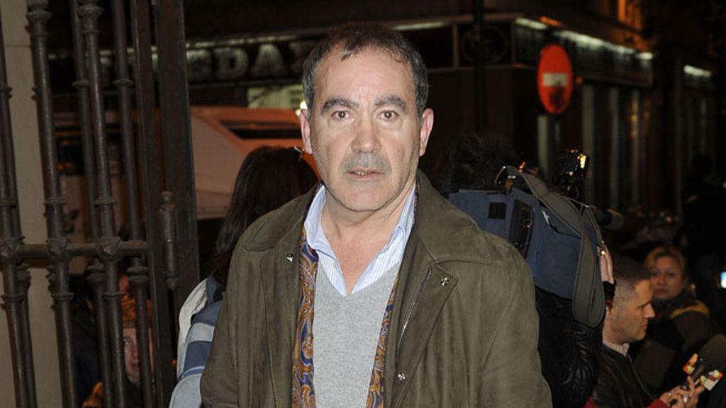 El actor Valentín Paredes