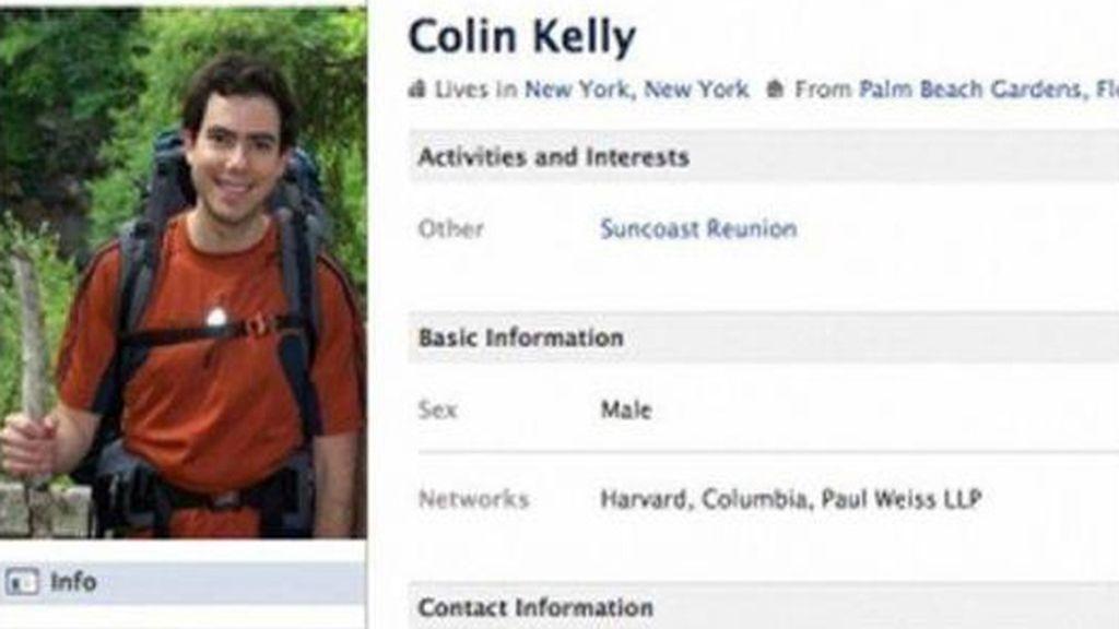 Colin Kelly. Fue amigo de David Hammer y Colin Jackson