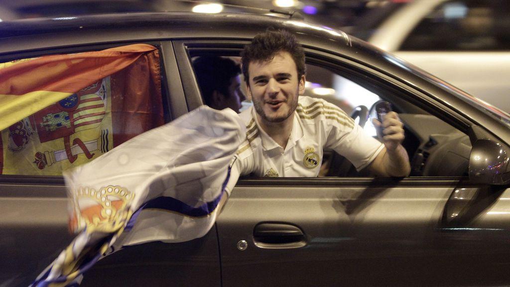 Madrid celebra 'el clásico'