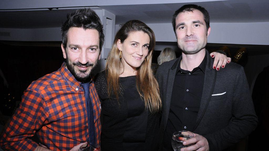 David Valldeperas, Carlota Corredera y Carlos