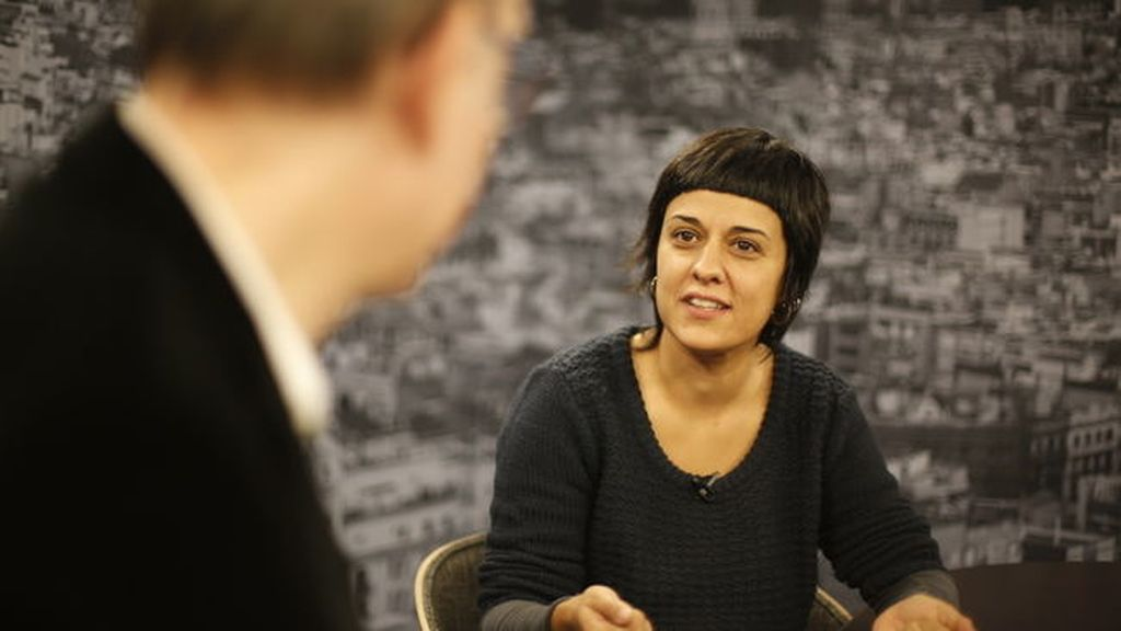 Anna Gabriel, diputada de la CUP en el Parlamento de Cataluña