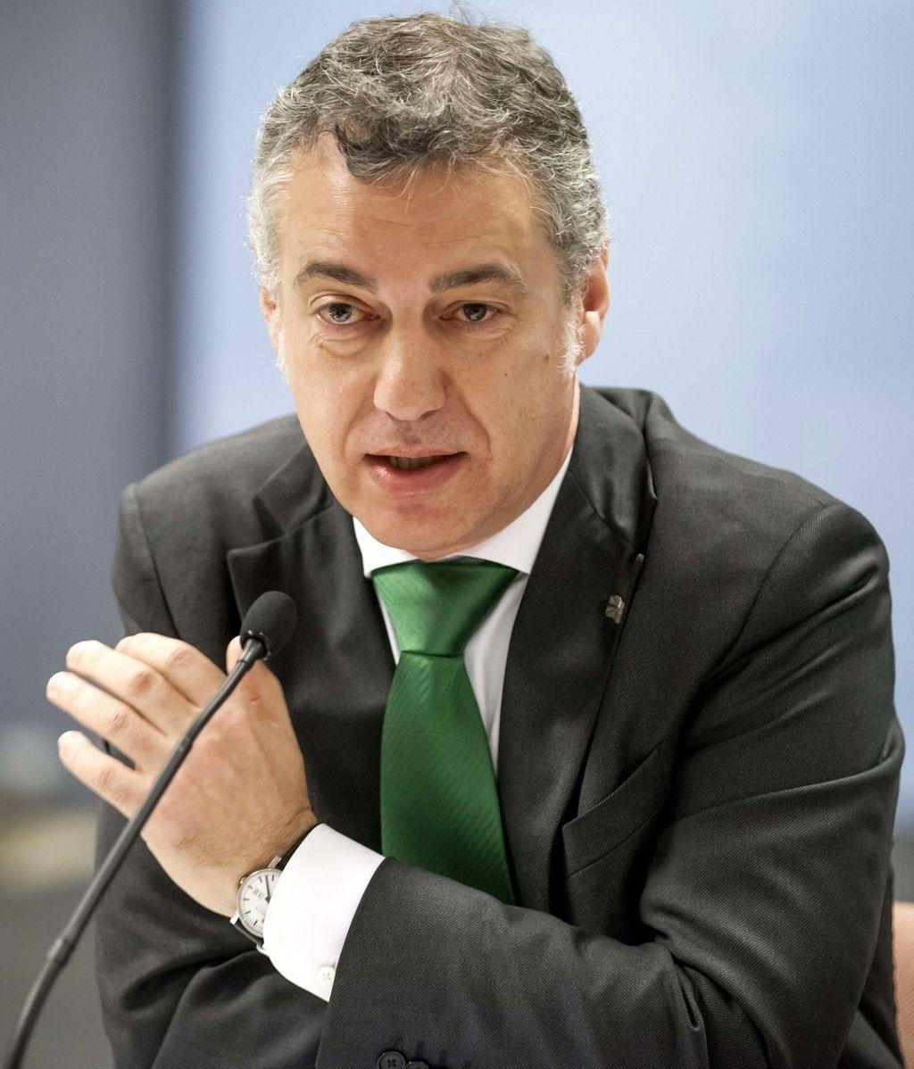 El lehendakari, Íñigo Urkullu, en el País Vasco