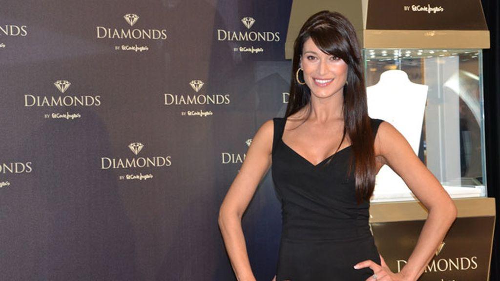 La presentadora se sincera en una presentación de diamantes