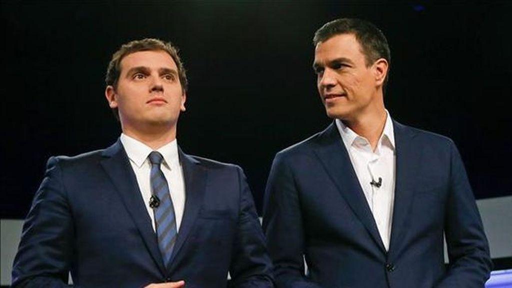 Albert Rivera y Pedro Sánchez