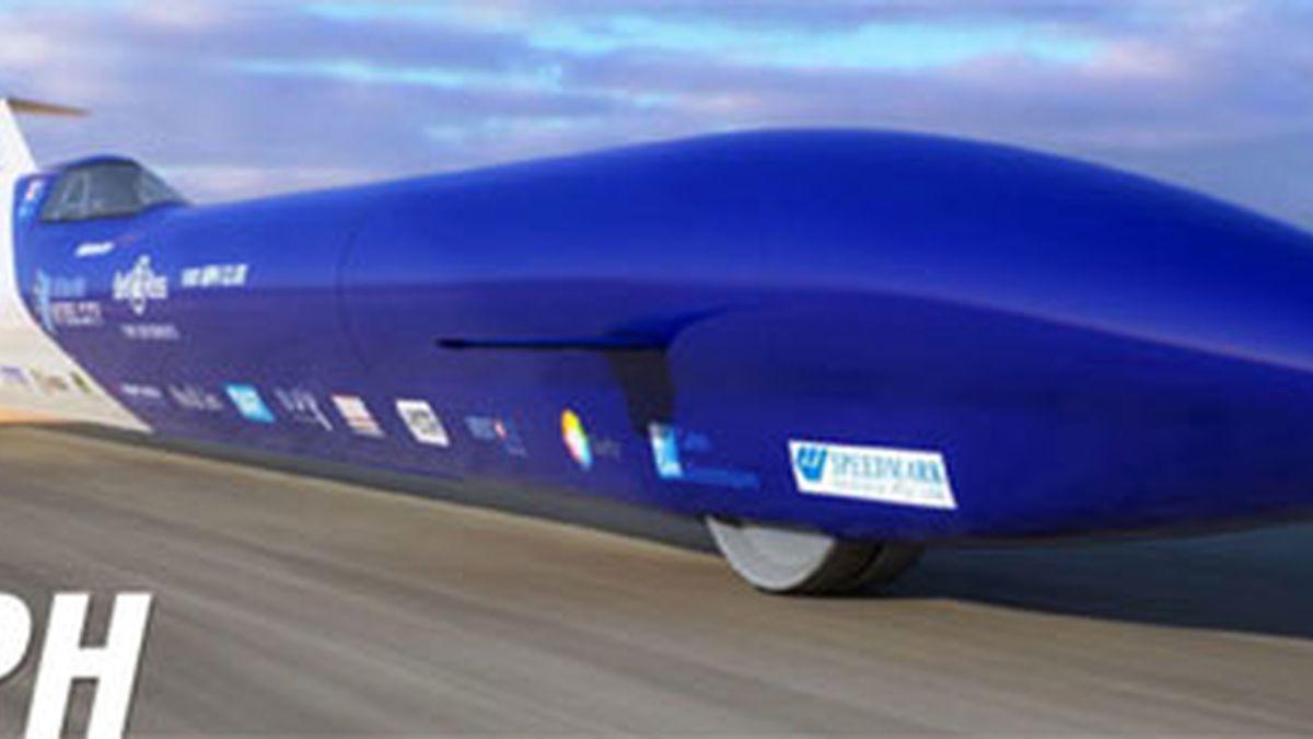 coche cohete, coche bala, Rosco McGlashan, equipo Aussie Invader