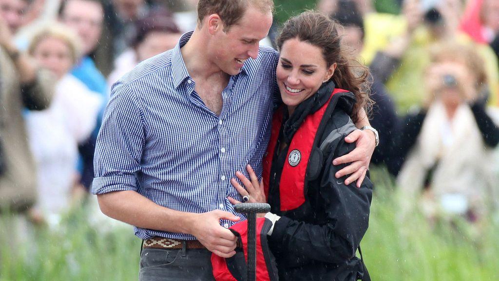 El príncipes y Kate se han mostrado muy cariñosos durante la jornada